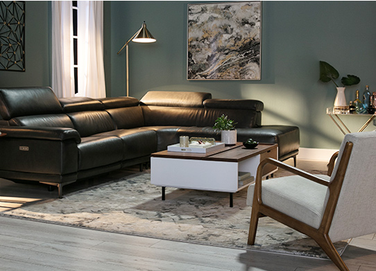 High Tech Furniture Living Spaces