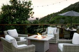Patio + Backyard