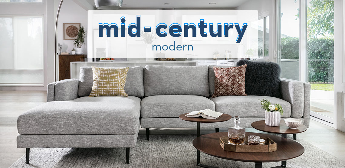 Mid Century Modern Furniture | Living Spaces