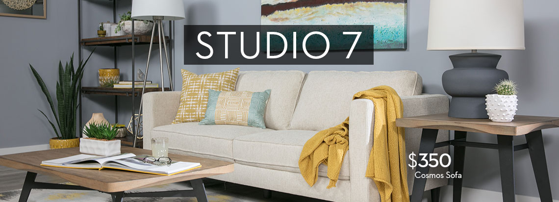 Affordable Modern Furniture By Studio 7 Living Spaces