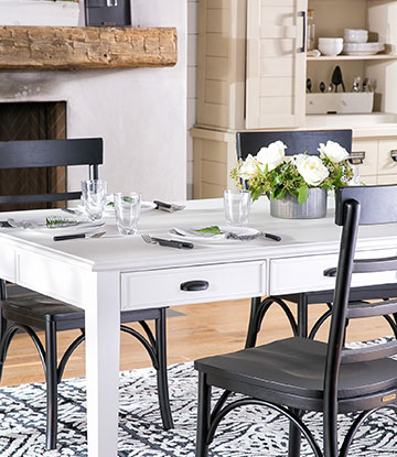 magnolia home dining table