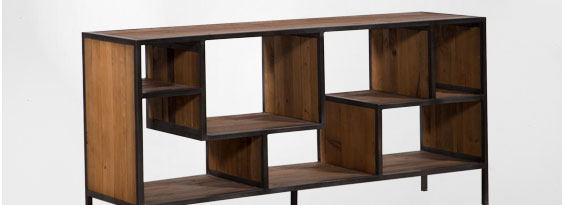 Austin Console Bookcase
