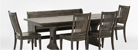 Valencia 72-Inch 6 Piece Dining Set