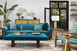 inspiration mid century room ideas