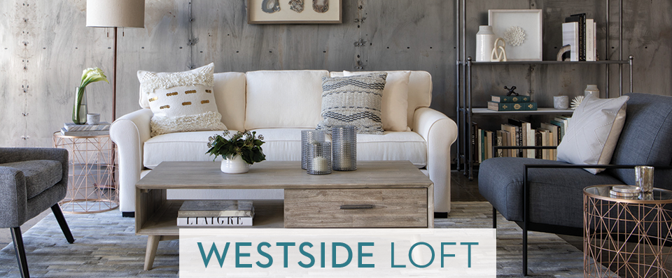 Contemporary Furniture Style Westside Loft Living Spaces