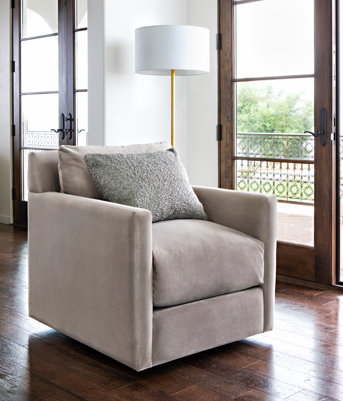 Nichol Swivel Chair By Nate Berkus And Jeremiah Brent