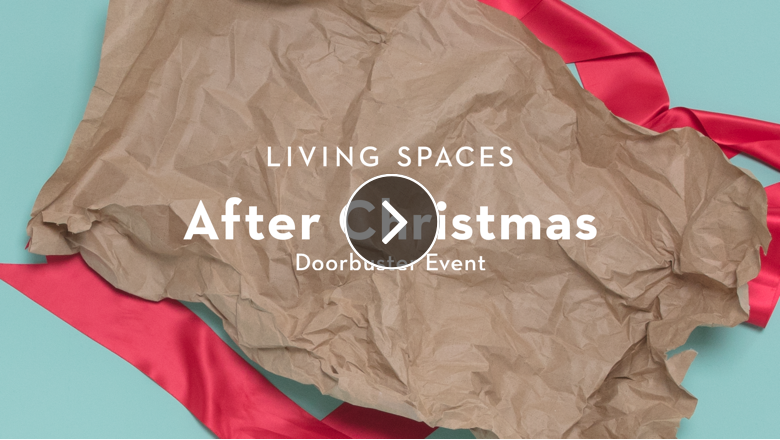 Living Spaces After Christmas doorbuster event