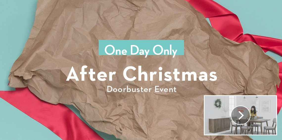 After Christmas Doorbuster Event