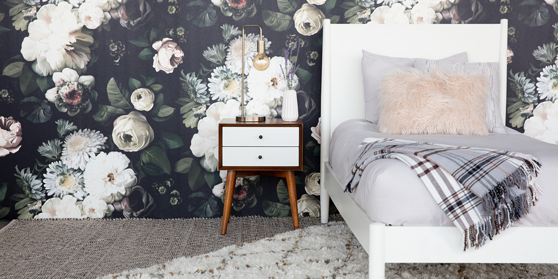 Boho Kids Bedroom with Alton bed