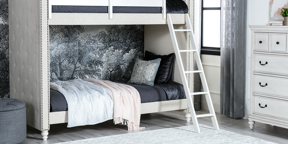 Traditional Kids Bedroom with Emily bed