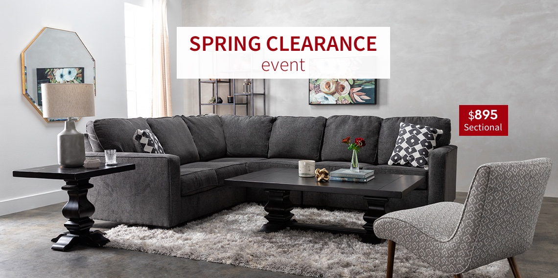 Spring Clearance Event | $895 Sectional