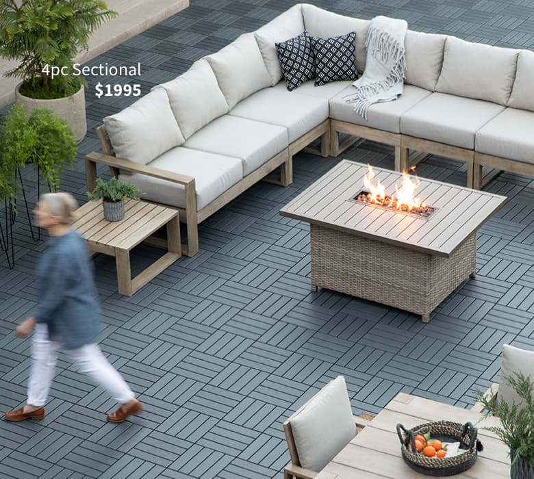 Outdoor + Patio Furniture | Living Spaces on Living Spaces Outdoor Sectional id=39604