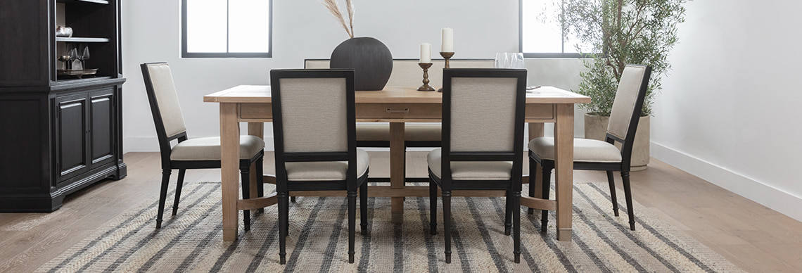 shop Nate + Jeremiah's dining room collection
