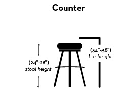 Magnificent Bar Stool Height Tips And Ideas For Your Dining Area Andrewgaddart Wooden Chair Designs For Living Room Andrewgaddartcom