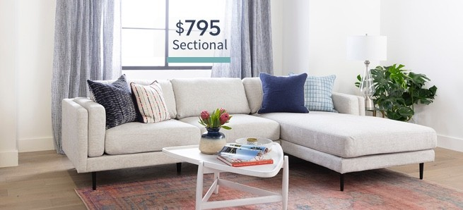 $795 Sectional