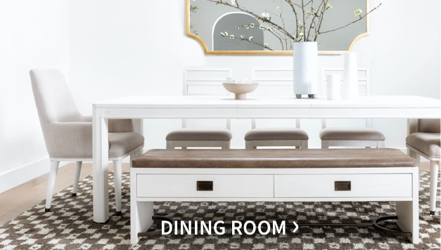 Nate + Jeremiah's dining collection