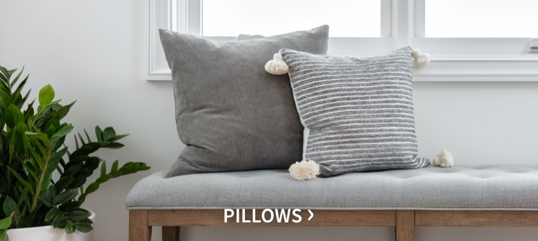 Nate + Jeremiah's pillows collection