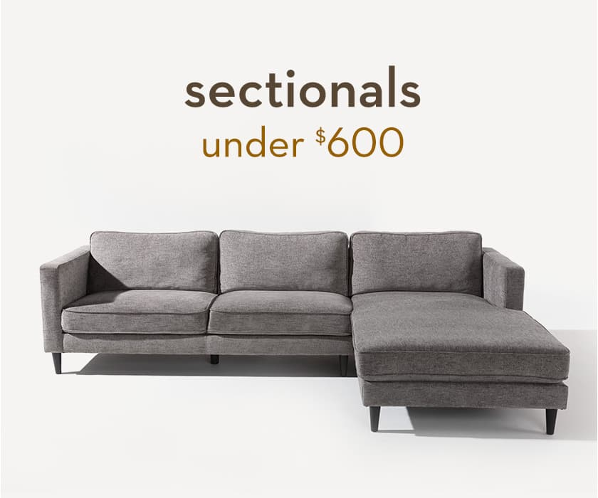 Sectionals under $600