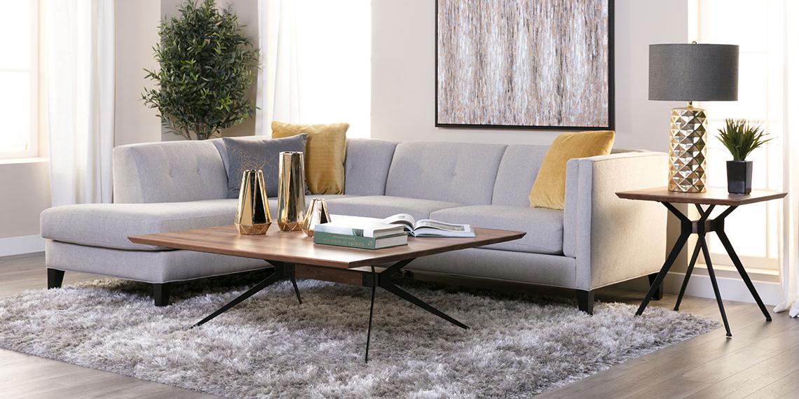 Modern Living Room With Avery Sofa | Living Spaces