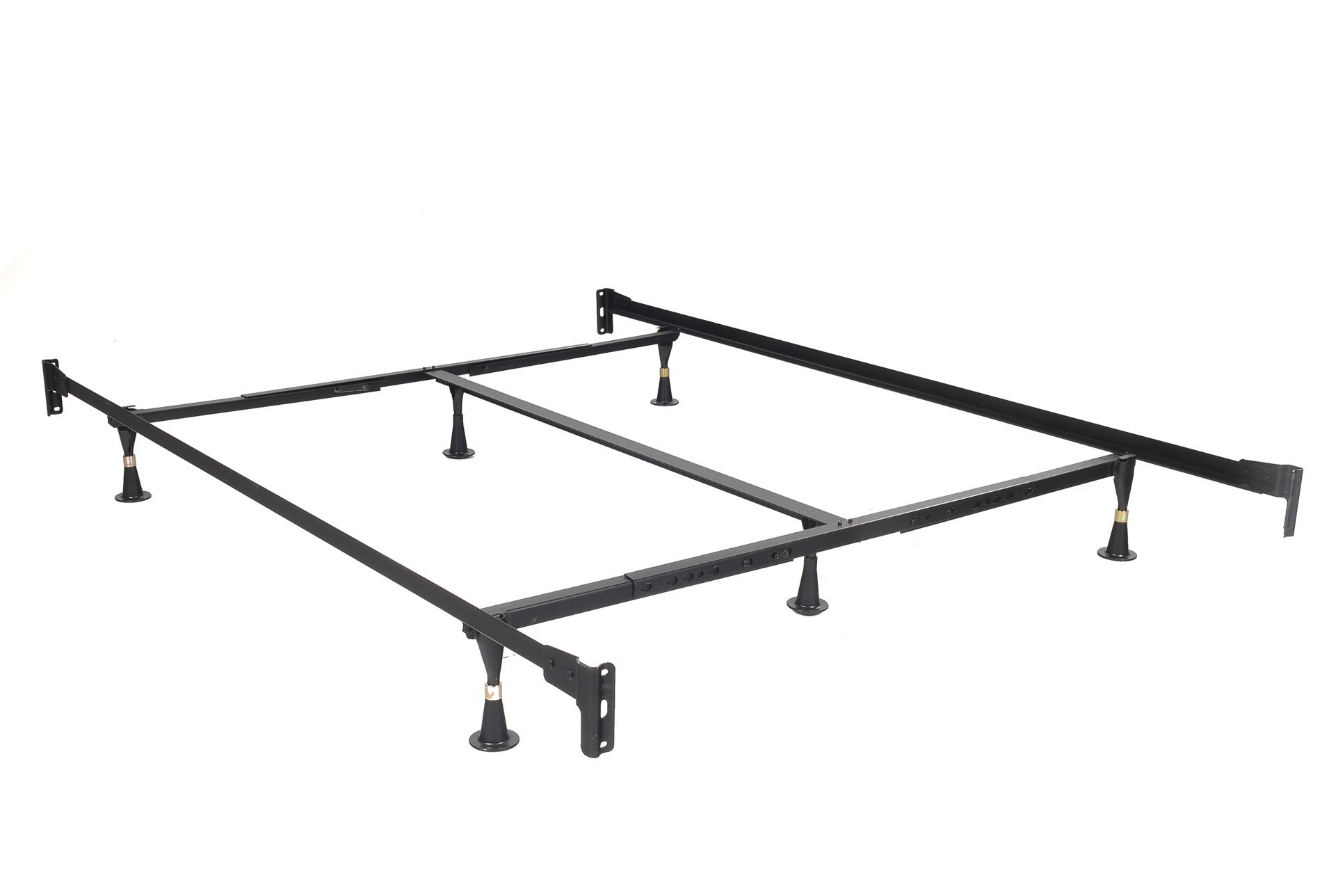 metal bed frames  living spaces - queeneastern king bed frame