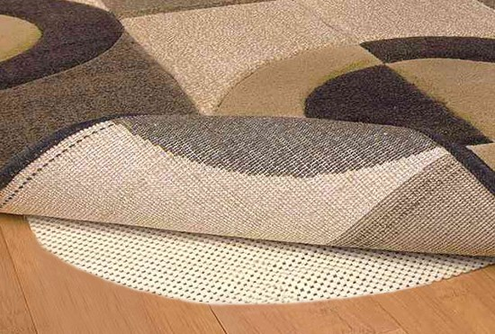 8 Foot Round Rug Pad Comfort Grip 360 Clearance View Size Large