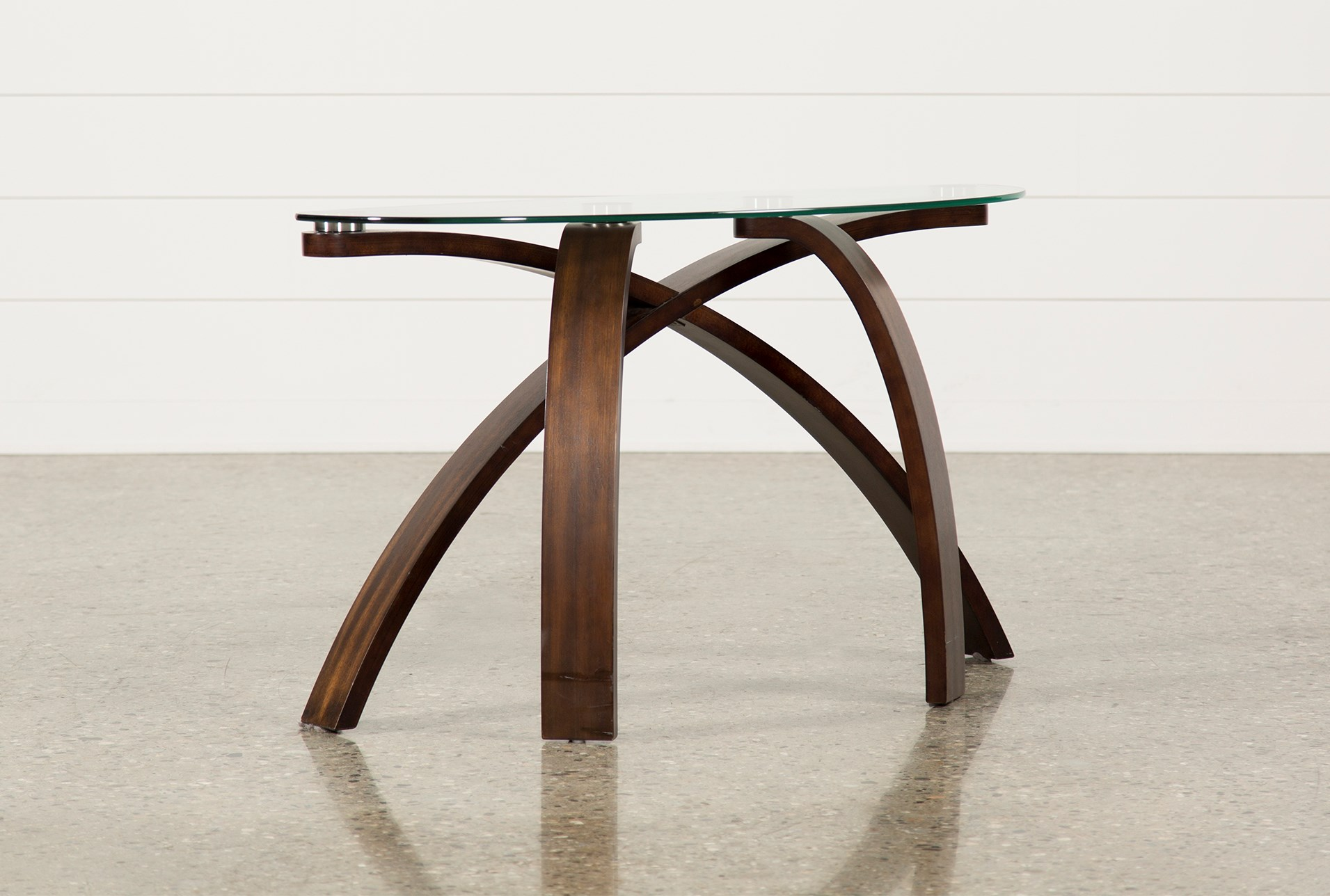 Allure Sofa Table Living Spaces