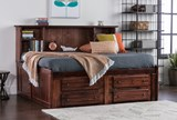 Sedona Full Roomsaver Bed With 4- Drawer Captains Unit - Room