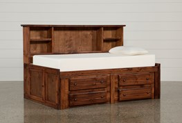 Sedona Twin Roomsaver Bed With 4- Drawer Captains Unit