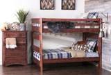 Sedona Full Over Full Bunk Bed - Room