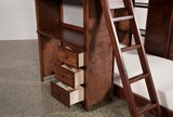 Sedona Twin Over Twin Loft Bunk With Chest & Desk - Bottom