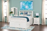 Bayfront Full Captains Bed With Single 4-Drawer Unit - Room