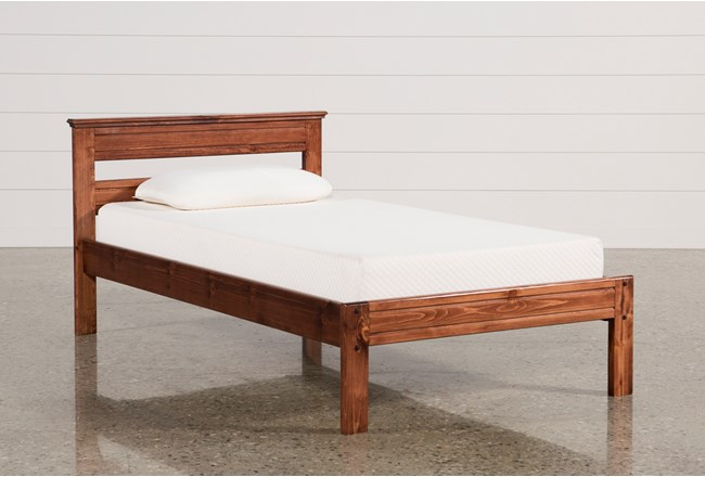 Sedona Twin Platform Bed 360