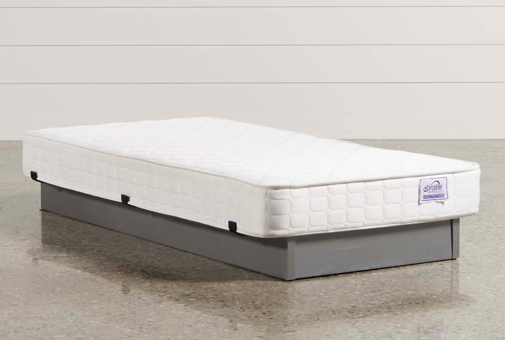 mattress with napier anchor twin bands pad