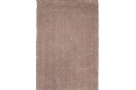 90X114 Rug-Elation Shag Beige - Main