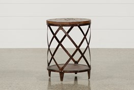 Mountainier Round End Table
