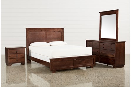 Marco Queen 4 Piece Bedroom Set - Main