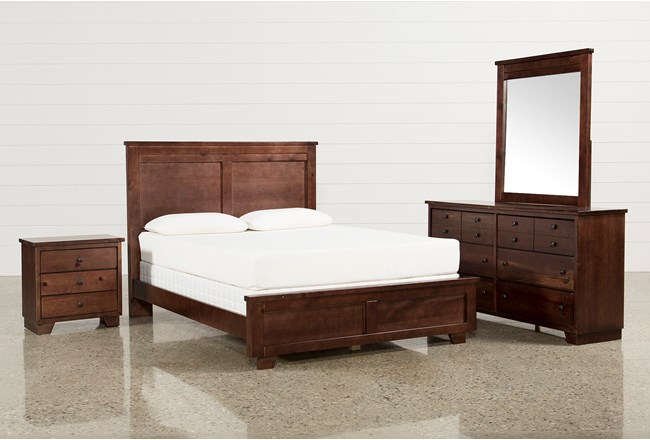 Marco Queen 4 Piece Bedroom Set | Living Spaces