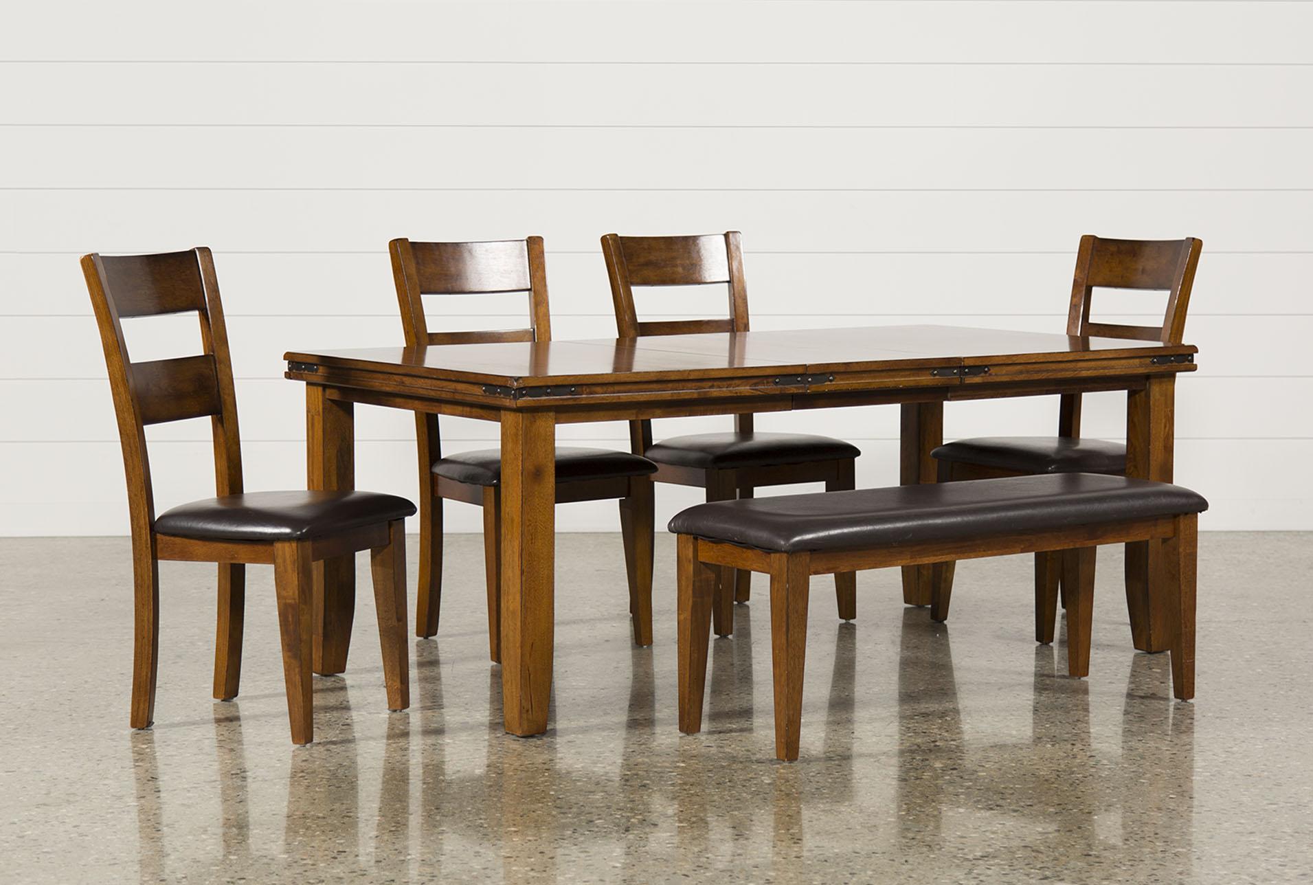 lancaster 6 piece dining set   360 lancaster 6 piece dining set   living spaces  rh   livingspaces com