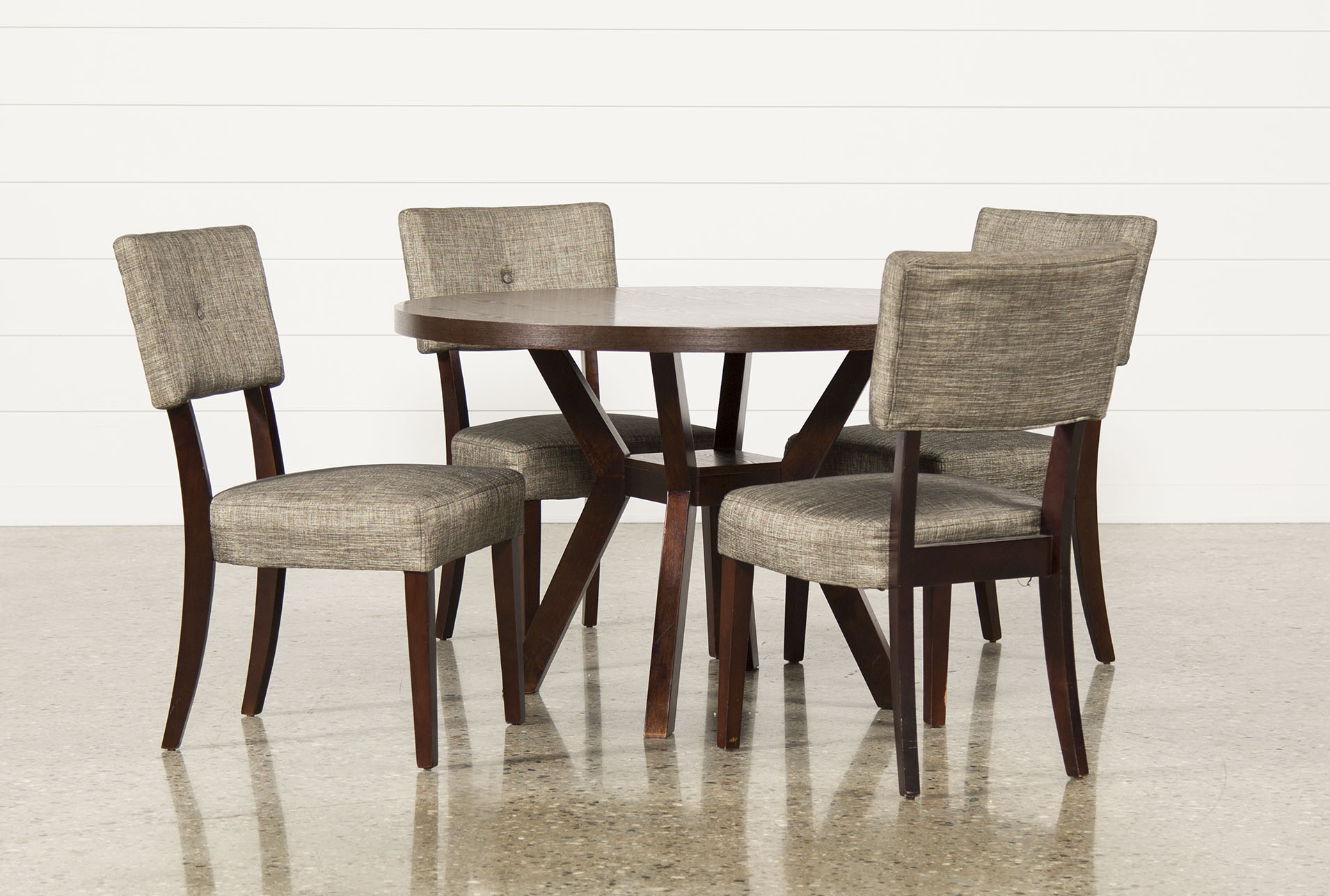 Macie 5 Piece Round Dining Set (Qty: 1) Has Been Successfully Added To Your  Cart.