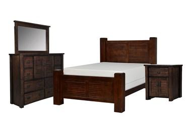 Canyon California King 4 Piece Bedroom Set