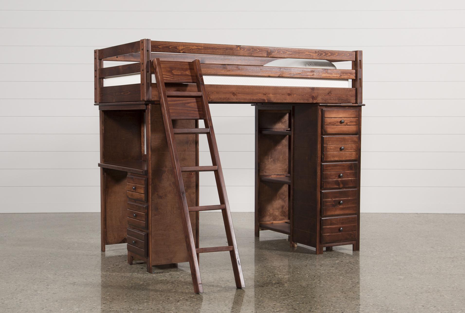 Sedona Loft Bed Living Spaces