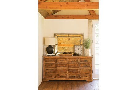 Satya 16-Drawer Sideboard