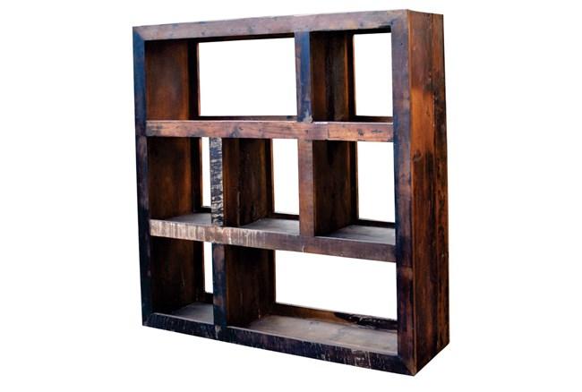 Divya Square Bookcase - 360