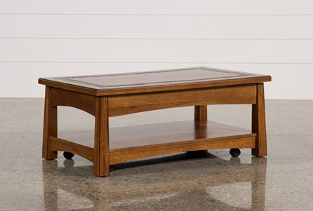 Brooks Rectangle Lift-Top Cocktail Table
