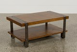 Marley Rectangle Coffee Table - Back