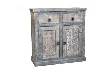 Dalai Small Print Block Sideboard