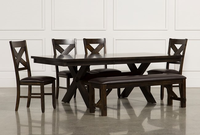 Pelennor 6 Piece Extension Dining Set - 360