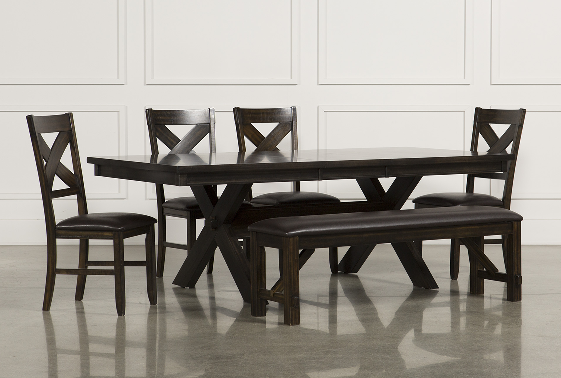 Added To Cart. Pelennor 6 Piece Extension Dining Set ...