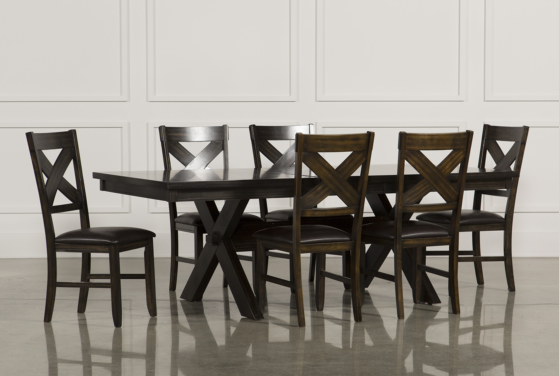 Superbe Pelennor 7 Piece Extension Dining Set