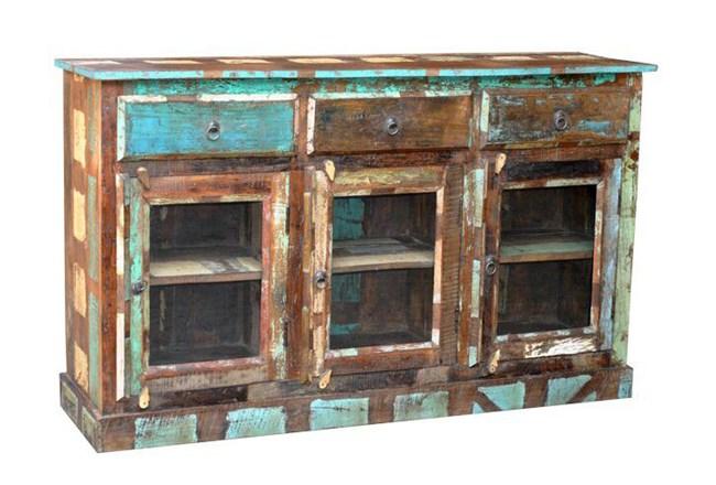 Eliya 3-Drawer Sideboard - 360